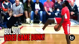 Bol Bol Hits The Eastbay Dunk In Game!!