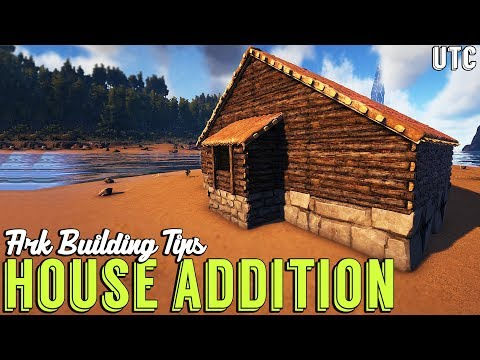 How to Make a Boring House Interesting :: Ark Building Tip #5 :: Vanilla Building Trick (No Clip)