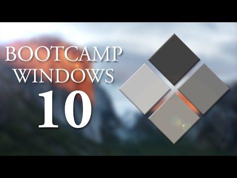 BOOTCAMP - Install Windows 10 via USB (OS X El Capitan) 2016 ITA