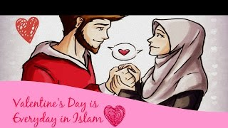 Valentines Day Is Everyday In Islam - (Be Romantic to Your Spouse) - Mufti Menk