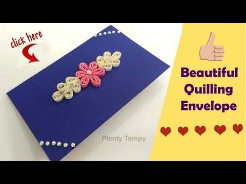 Money envelopes| cash envelopes| Gift envelopes| Shagun envelope|Envelope making|Quilling art