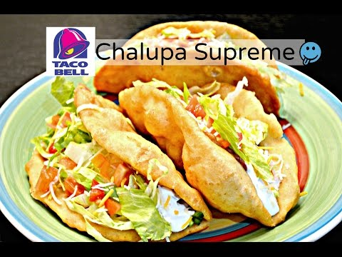 How to Make a Bean Chalupa Supreme | Chalupa recipe for Vegetarians
