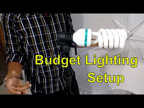DIY : Budget Lighting Setup For Professional YouTube Studio