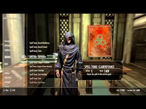How to get more Spells - Skyrim