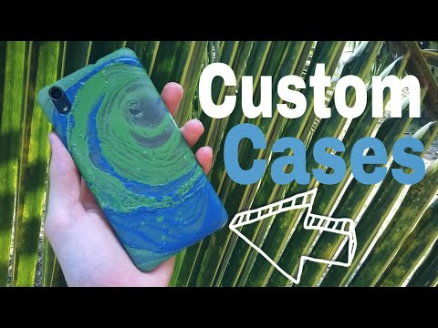 How to make Hydro Dipped smartphone cases. ( easy diy custom cases )
