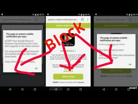 How to block pop up adds in android (without add blocker)