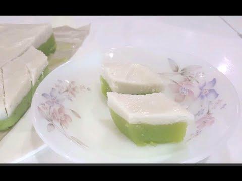 Homemade Kuih Talam 娘惹糕