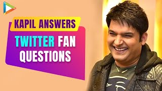 Kapil Sharma answers Twitter fan questions | Confirms about his new show on Sony T.V | Firangi