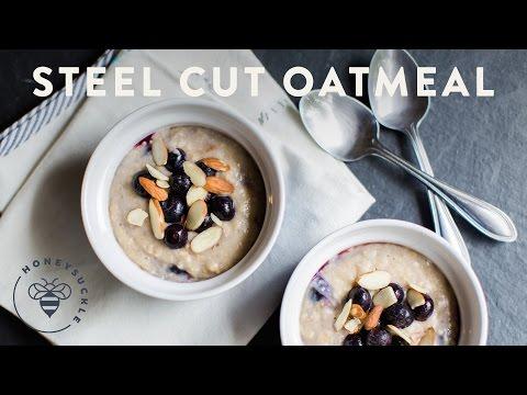 Steel Cut Oatmeal Under 5 Minutes - Honeysuckle