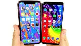 iPhone XR vs Galaxy S9 Speed Test!