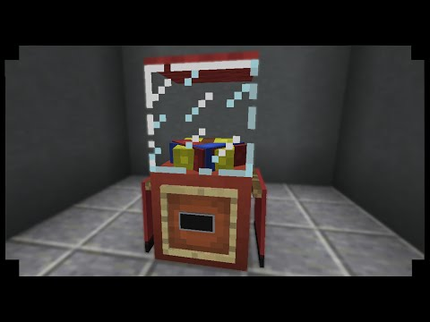 ✪Minecraft: How to make a gumball machine!