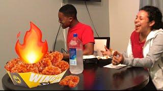 Download BLAZING HOT WING CHALLENGE ! Video