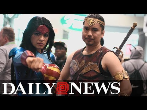 How two cosplayers create their costumes and conquer New York Comic Con