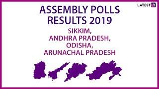 Assembly Elections 2019: Results From Arunachal Pradesh, Sikkim, Odisha and Andhra Pradesh