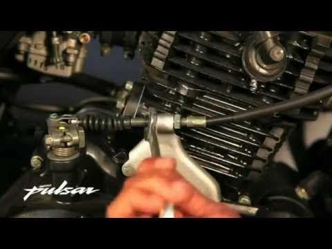 Bajaj Pulsar clutch cable Repairing