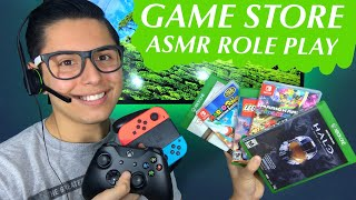 asmr Game Store Role Play games Tingles