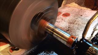 Friction welding on the lathe at home