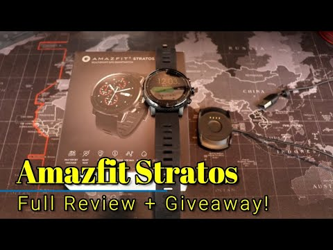 Amazfit Stratos: Full Review + Giveaway