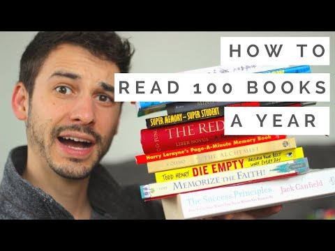 How I Read Over 100 Books a Year