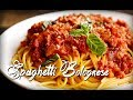 Tutorial Resep Masakan - Cara membuat Spaghetti Bolognese