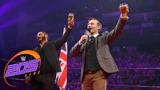 Gentleman Jack Gallagher toasts Austin Aries: WWE 205 Live, May 9, 2017