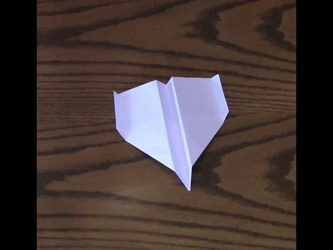 How To Make A Paper Airplane - Eagle