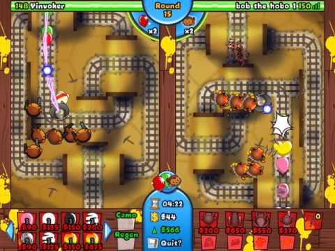 Replay from Bloons TD Battles!