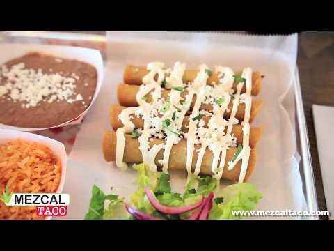 Flautas at Mezcal Taco