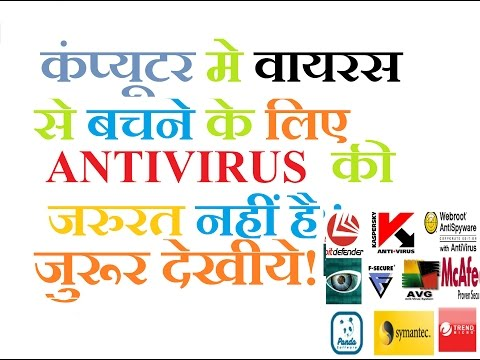 NOT REQUIRE ANTIVIRUS TO PROTECT COMPUTER SOLUTION HINDI/हिंदी