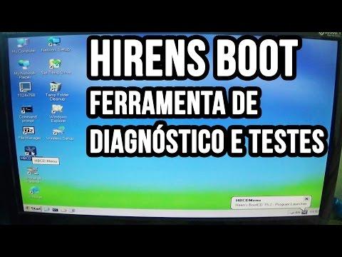 Hirens BootCD - Baixar, gravar e como usar o Hirens Boot CD