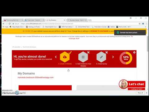 6 HOW TO POINT FREENOM DOMAIN TO 000WEBHOST HOSTING