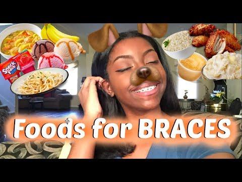 FOOD IDEAS FOR BRACES! (sore teeth/adjustments)