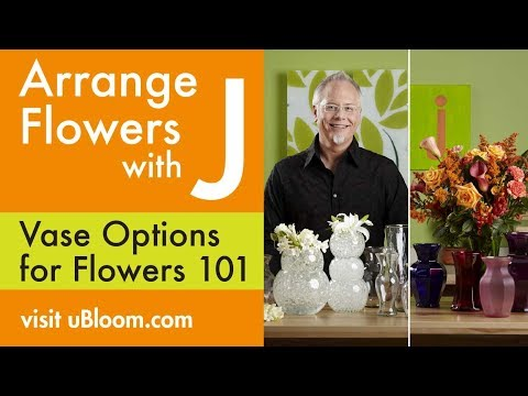 How To Arrange Flowers- Create Flower Arrangements in Vases!