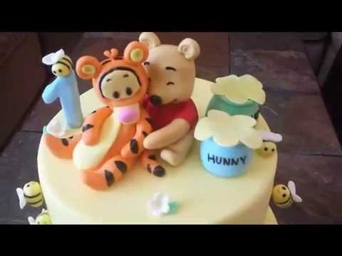 Winnie and Tigger Cake