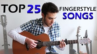 TOP 25 - Awesome FINGERSTYLE Guitar Songs - PakVim net HD
