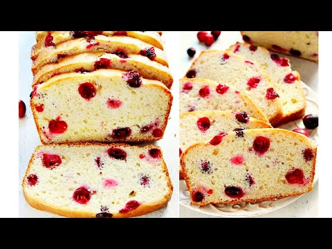 Easy Cranberry Sweet Bread Recipe | Ep. 2 Sweet Holidays