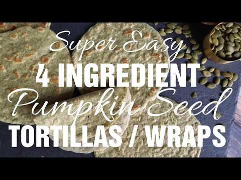 Pliable Nut-free Pumpkin Seed (Pepita) Tortillas