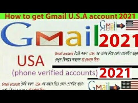 How to Create U.S.A verified gmail account/id 2018