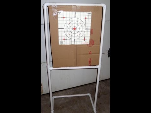 DIY: How To Make A PVC Target Stand For Under $10