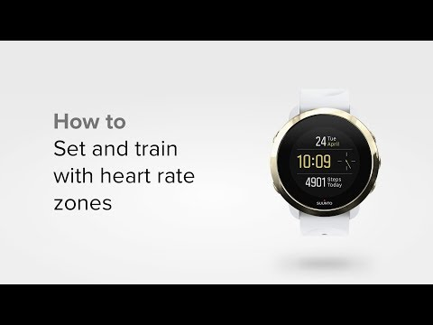 Suunto 3 Fitness - How to train with heart rate zones
