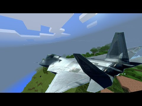 How to get & fly a jet with Command Blocks