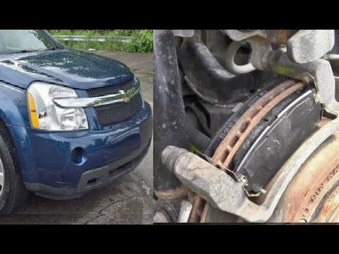 How to Replace Rear Disc Brake Pads on Chevy Equinox