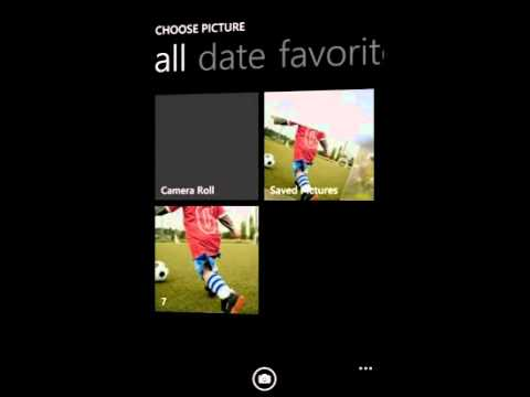 How To Make a Great Looking Collage using Snap & Tap Collage - app for Windows Phone 7