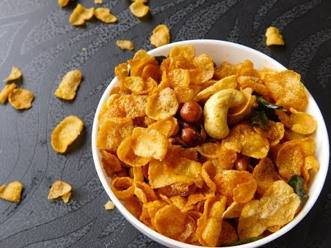 Cornflakes Mixture | cornflakes chivda recipe | Cornflakes Mixture by Homr recipes