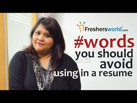 Things You Should Never Put on your Resume – Resume Building Tips, Freshersworld Resume making Tips