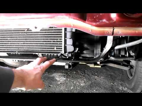 Ford Fiesta Radiator Change