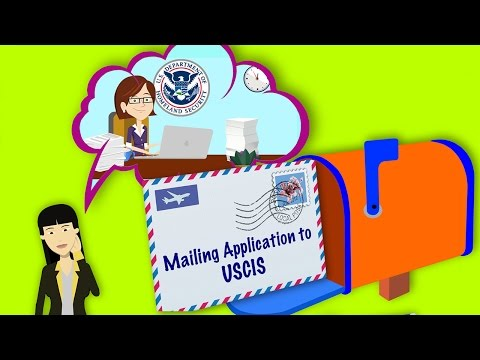 STEM OPT Extension: Mailing your application to USCIS 2/3