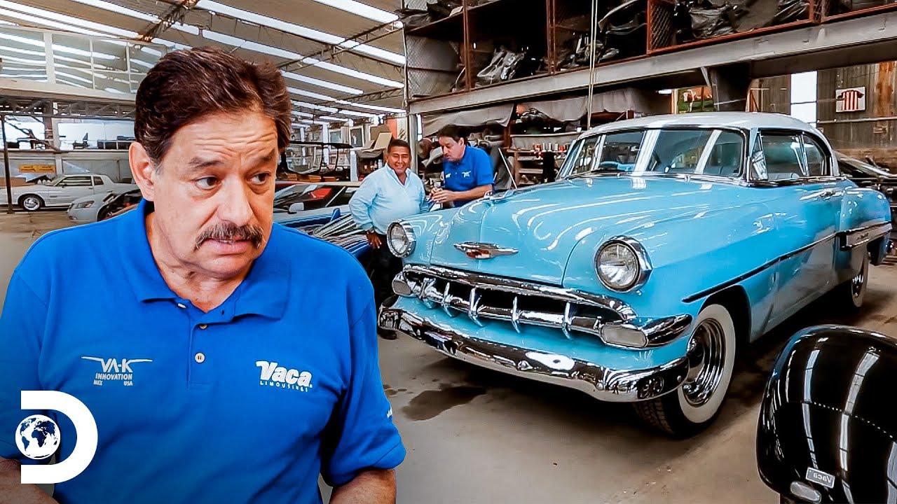 Martín Vaca revive un Chevrolet Bel Air 1953   Mexicánicos   Discovery Latinoamérica