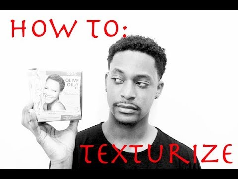 HOW TO TEXTURIZE NATURAL HAIR (ORS OLIVE OIL) WINSTONEE