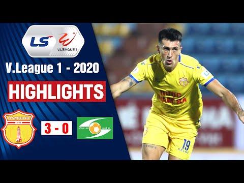 DNH Nam Định vs Sông Lam Nghệ An: 3-0   Highlights V.League 2020   On Sports